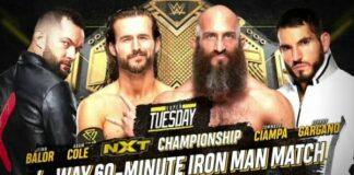 NXT Championship 4-Way Iron Man Match