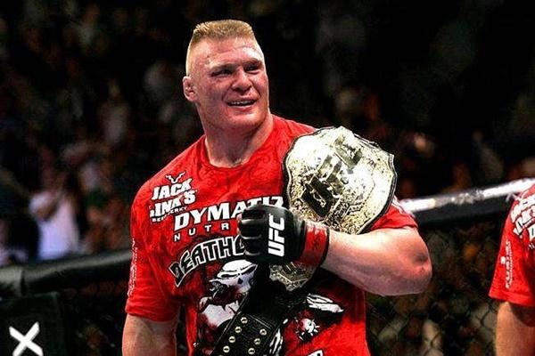 Brock Lesnar as UFC Heavyweight Champion