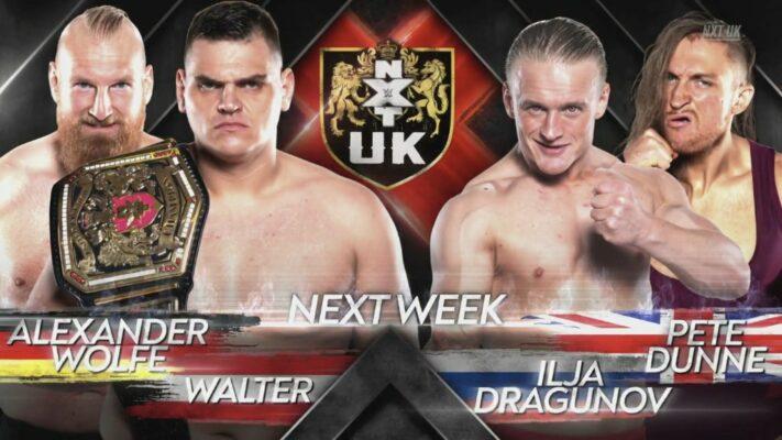 NXT UK WALTER Wolfe Dunne Dragunov
