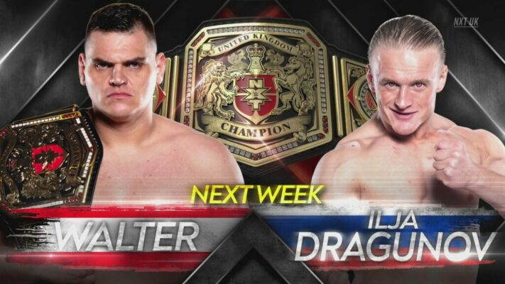 NXT UK WALTER Ilja Dragunov