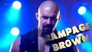 NXT UK Rampage Brown