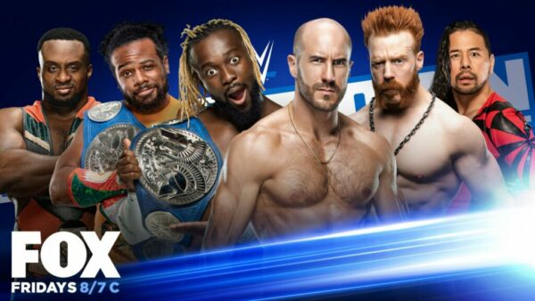 SmackDown The New Day vs Sheamus Cesaro Shinsuke