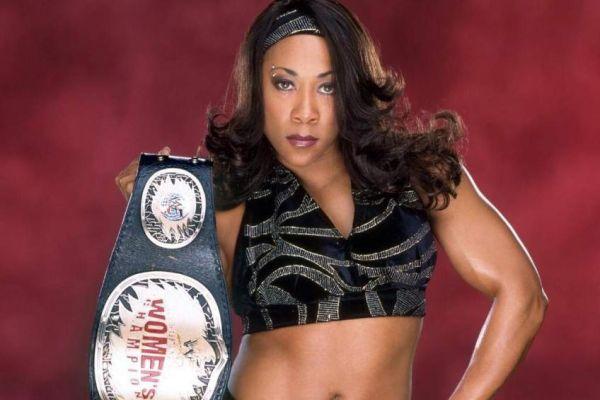 Jazz WWE Women's Champion