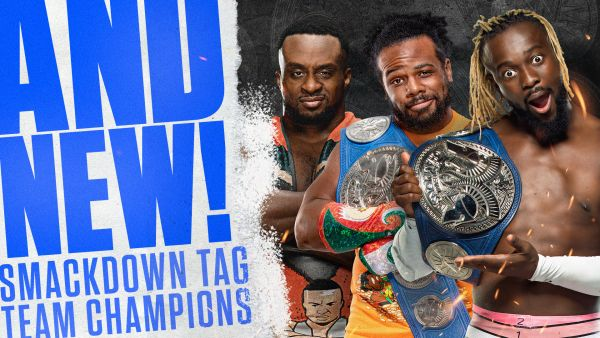 Xavier Woods Kofi Kingston Big E The New Day