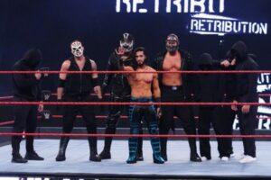 Mustafa Ali Retribution WWE RAW