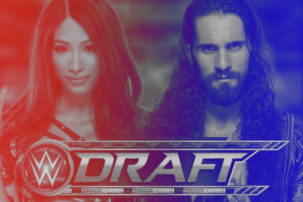 Sasha Banks Seth Rollins WWE Draft