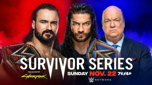 Drew McIntyre vs. Roman Reigns