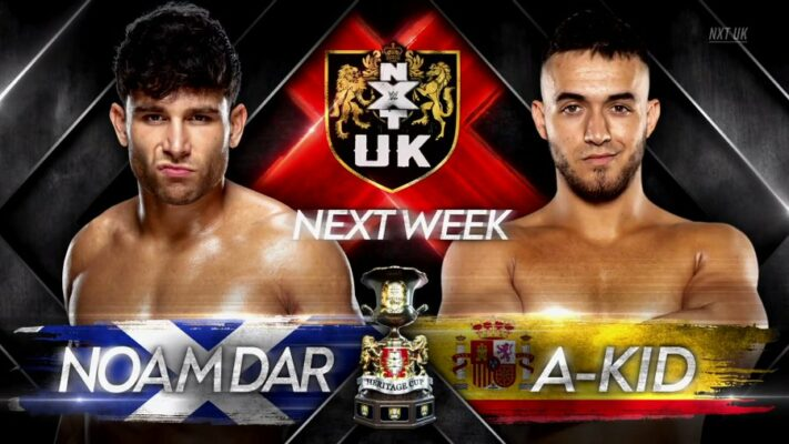 NXT UK Noam Dar A-Kid