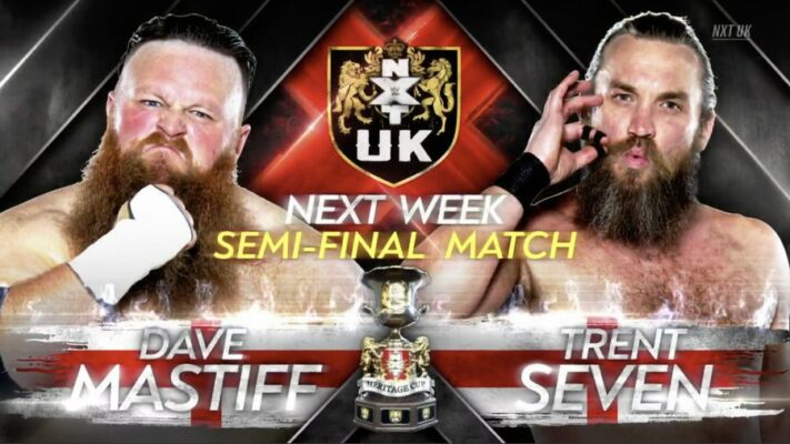 NXT UK Dave Mastiff Trent Seven