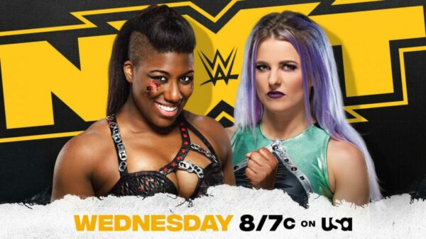 NXT Ember Moon vs Candice LeRae