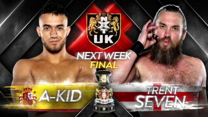 NXT UK Trent Seven A-Kid