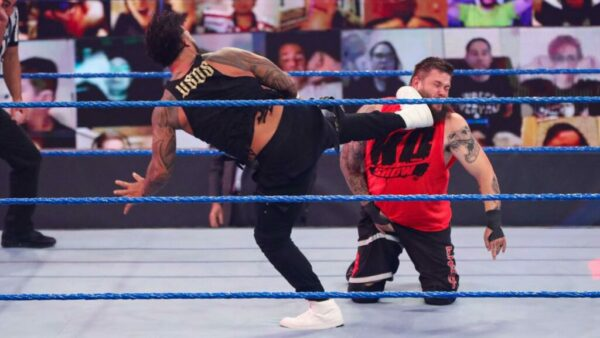 SmackDown Jey Uso Kevin Owens