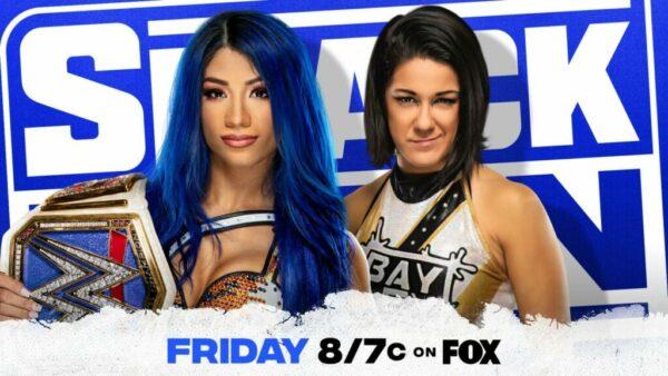 SmackDown Sasha Banks Bayley