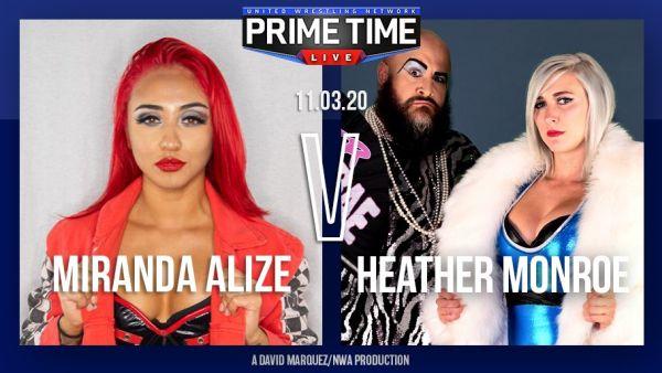 UWN Primetime Live Miranda Alize Heather Monroe