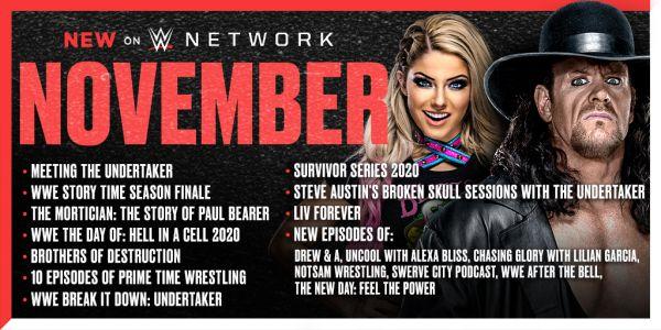 WWE Network November