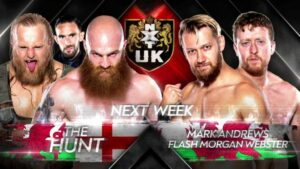 NXT UK The Hunt South Wales Subculture