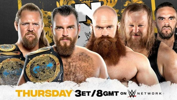NXT UK Gallus The Hunt