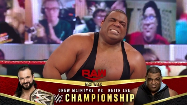 Keith Lee Earns Title Match