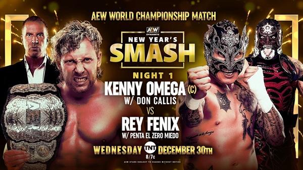 AEW New Year's Smash Kenny Omega Fenix