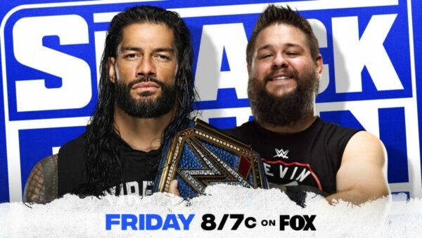 Roman Reigns Kevin Owens SmackDown