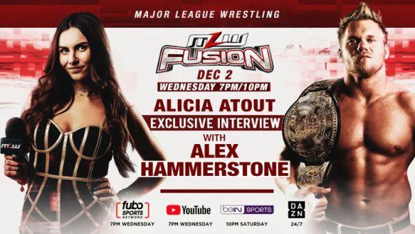 Alicia Atout Hammerstone MLW Fusion