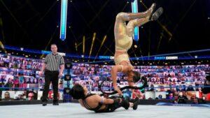 Bianca Belair Bayley SmackDown