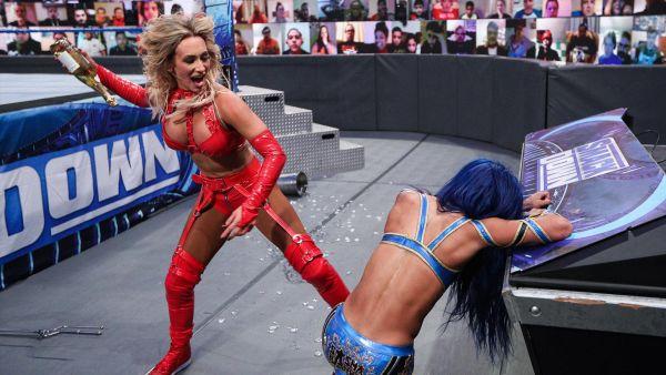 Carmella Sasha Banks WWE SmackDown