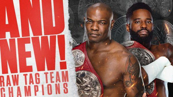Cedric Alexander Shelton Benjamin RAW Tag Team Champions