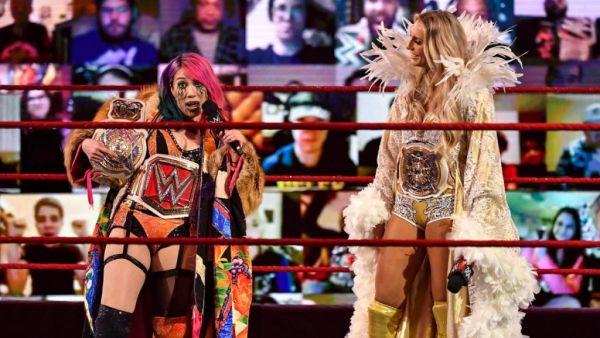 Asuka Charlotte Flair WWE RAW
