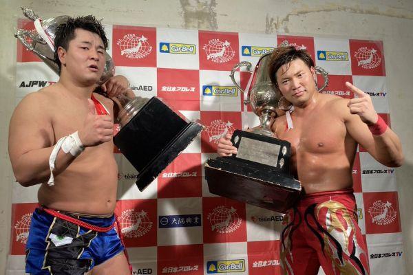 Kento Miyahara Yuma Aoyagi AJPW Real World Tag League 2020