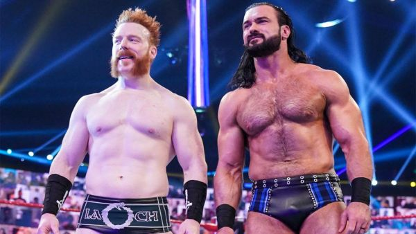 Sheamus Drew McIntyre WWE RAW