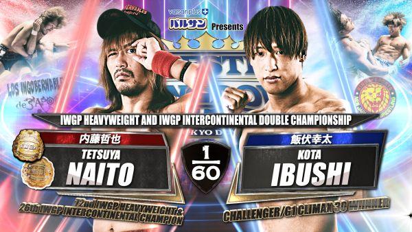 Wrestle Kingdom 15 Tetsuya Naito Kota Ibushi