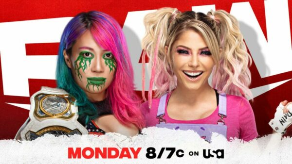 Asuka Alexa Bliss Monday Night Raw