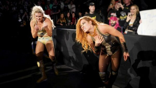 Becky Lynch vs Charlotte Flair Evolution