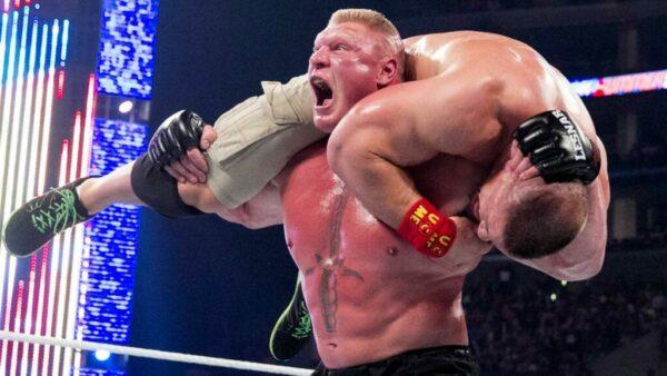Brock Lesnar John Cena SummerSlam