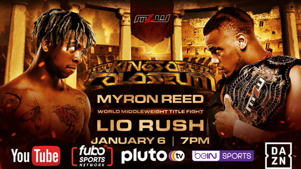 lio rush vs myron reed