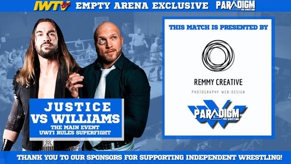 UWFI Contenders Season One FinaleMatthew Justice vs Aaron Williams