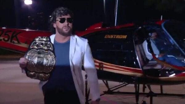 Kenny Omega AEW World Champions