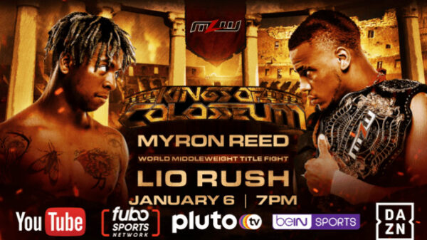 Lio Rush vs Myron Reed MLW