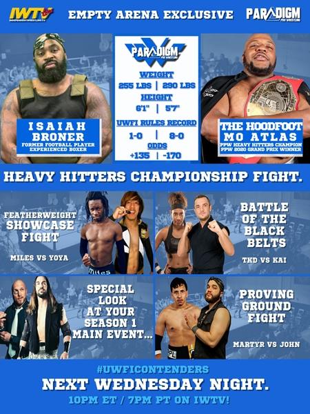 Paradigm Pro Wrestling UWFI Contenders Series Episode 4