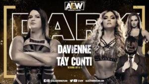 AEW Dark Davienne vs Tay Conti