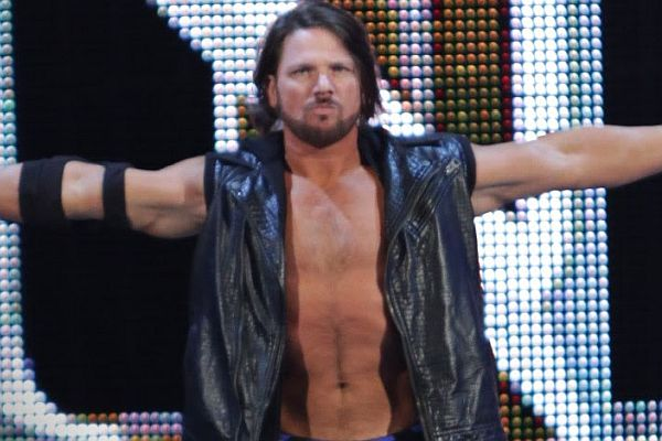 AJ Styles WWE Royal Rumble 2016
