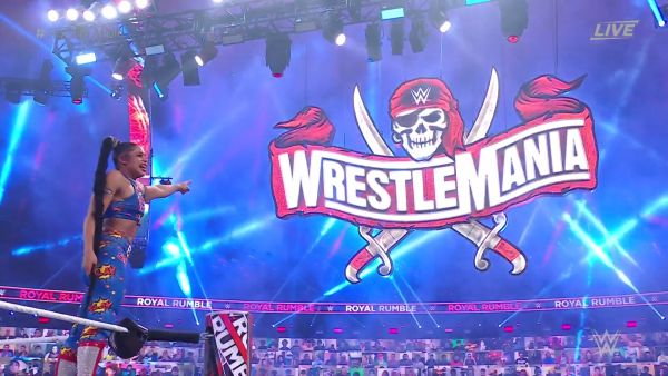 Bianca Belair 2021 Women's Royal Rumble