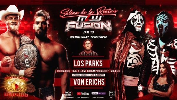 MLW FUSION 1/13/21