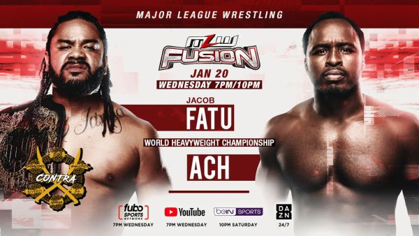 MLW FUSION 1/20/21