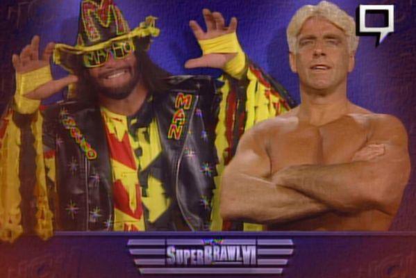 Randy Savage Ric Flair WCW SuperBrawl VI