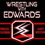Wrestling with Edwards logo