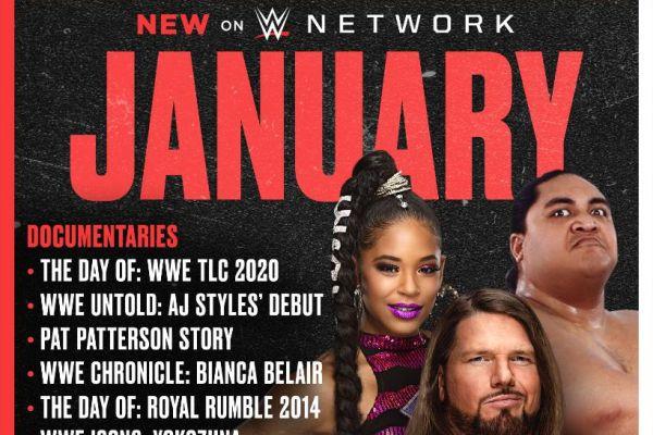 WWE Network January 2021