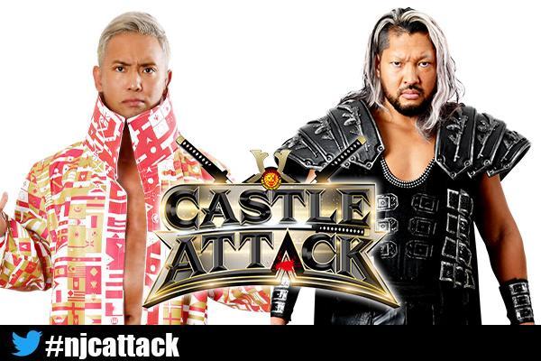 Castle Attack Kazuchika Okada vs EVIL