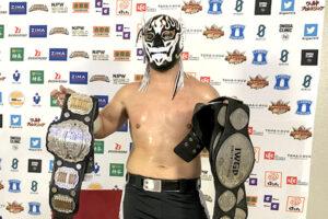 El Desperado Wins IWGP Jr Heavyweight Title
